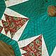 """Новый год 2018 ручной работы. Ярмарка Мастеров - ручная работа. Купить Покрывало под елку """"С Новым годом!"""". Handmade."""
