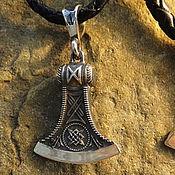Украшения handmade. Livemaster - original item Talisman/Pendant Axe small from silver 925. Handmade.