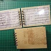 Материалы для творчества ручной работы. Ярмарка Мастеров - ручная работа Альбом для хранения штампов (основа),странички для альбома. Handmade.