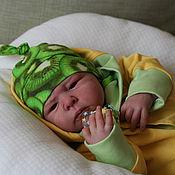 """Работы для детей, ручной работы. Ярмарка Мастеров - ручная работа Комплект """"Kiwi-Banana"""".. Handmade."""