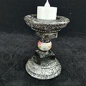 Для дома и интерьера handmade. Livemaster - original item Candlestick,Silver bell, silver candle holder. Handmade.