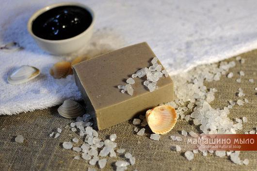 Мыло ручной работы. Ярмарка Мастеров - ручная работа. Купить Натуральное мыло с лечебной грязью Медвежья царевна. Handmade.