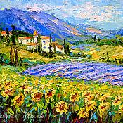 handmade. Livemaster - original item Painting Provence