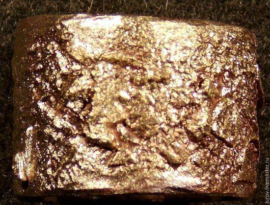 Кольца ручной работы. Ярмарка Мастеров - ручная работа. Купить Золотой песок. Handmade. Золотой, кольцо биметалическое