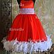 Одежда для девочек, ручной работы. Ярмарка Мастеров - ручная работа. Купить Пышное платье с боа для девочки Катрин. Handmade.