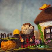 Куклы и игрушки ручной работы. Ярмарка Мастеров - ручная работа Пальчиковый театр Репка. Handmade.