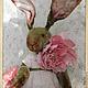 Мишки Тедди ручной работы. Ярмарка Мастеров - ручная работа. Купить Фрау Марта - авторский плюшевый заяц. Handmade. Оливковый