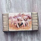 Сувениры и подарки handmade. Livemaster - original item copernica dogs on the hunt. Handmade.