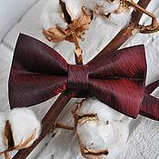 Аксессуары handmade. Livemaster - original item Tie Iridescent tints / satin tie necktie red. Handmade.