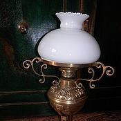 Винтаж ручной работы. Ярмарка Мастеров - ручная работа Антикварная настольная лампа Англия. Handmade.