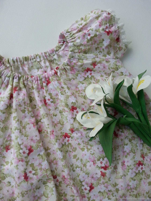 Одежда для девочек, ручной работы. Ярмарка Мастеров - ручная работа. Купить Платья для девочек 'Утренний цветочек'. Handmade. Для девочки