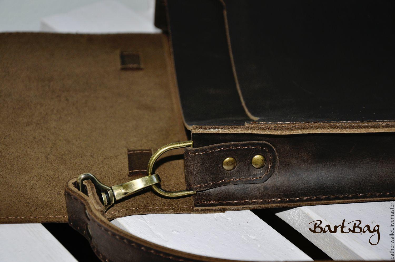 a4644caba408 Ярмарка Мастеров Мужские сумки ручной работы. Кожаная сумка
