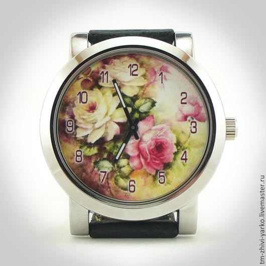 """Часы ручной работы. Ярмарка Мастеров - ручная работа. Купить Часы наручные женские  """"Нежные пионы"""". Handmade. Часы"""