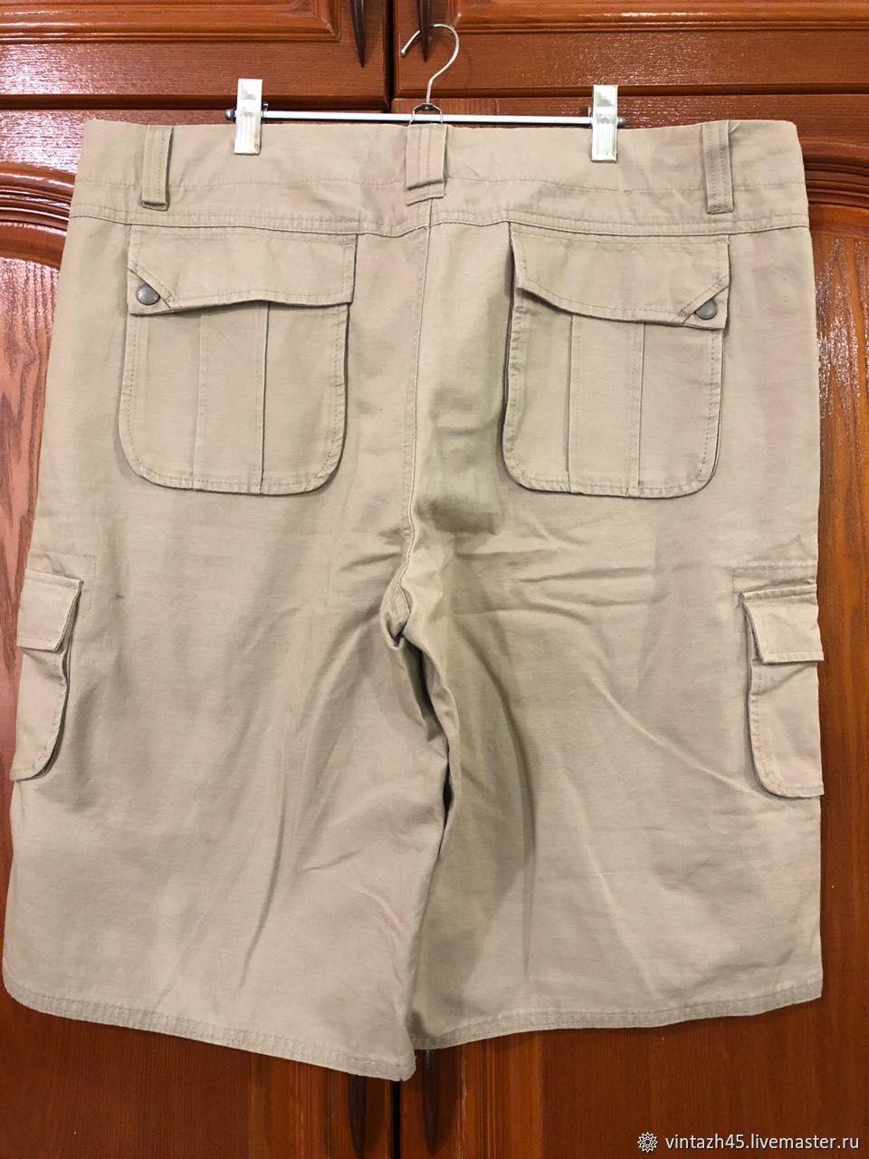 36ed39b31bd Авторские и винтажные вещи от Ольги · Одежда. Винтаж  Винтажные большие мужские  шорты. Авторские и винтажные вещи от Ольги.