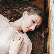 Одежда ручной работы. Ярмарка Мастеров - ручная работа Платье Розовый жемчуг. Handmade.