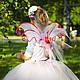 """Детские карнавальные костюмы ручной работы. """"Розовая фея"""" карнавальный костюм: юбка-пачка, крылья, ободо. PartyMask. Ярмарка Мастеров."""