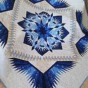 """Одеяла ручной работы. Ярмарка Мастеров - ручная работа Лоскутное одеяло """" КОРОЛЕВСКОЕ """". Handmade."""