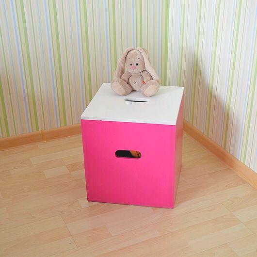 Детская ручной работы. Ярмарка Мастеров - ручная работа. Купить Ящик для игрушек. Handmade. Ящик, ящик из дерева, ящик для игрушек