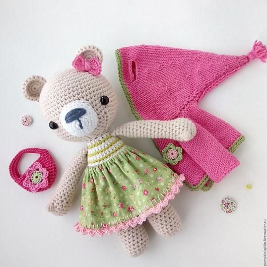 Игрушки животные, ручной работы. Ярмарка Мастеров - ручная работа. Купить Вязаная игрушка медвежонок в одежде. Handmade. Вязаная игрушка