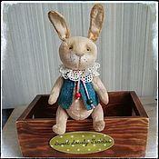 Тедди Зверята ручной работы. Ярмарка Мастеров - ручная работа Тедди заяц, зайчик игровой. Handmade.