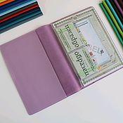 Канцелярские товары handmade. Livemaster - original item Organizer for documents A4 format lavender. Handmade.