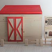 Кукольные домики ручной работы. Ярмарка Мастеров - ручная работа Ферма. Handmade.