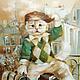 Город ручной работы. Parisien- Парижанин. Логинова Аннет. Интернет-магазин Ярмарка Мастеров. Мечтатель, картины с котами, подарок путешественнику