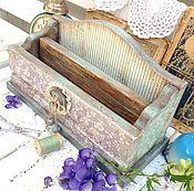 Для дома и интерьера handmade. Livemaster - original item Canal para los mensajes de la Antigua percal. Handmade.