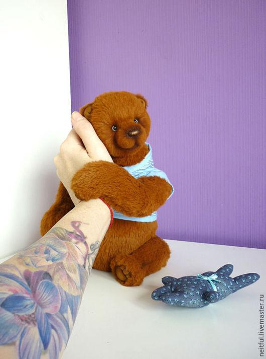 Мишки Тедди ручной работы. Ярмарка Мастеров - ручная работа. Купить Котару. Handmade. Коричневый, подарок, древесные опилки