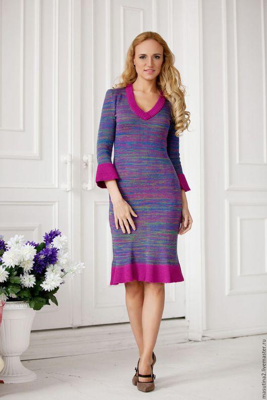 """Платья ручной работы. Ярмарка Мастеров - ручная работа. Купить Платье """"Северное сияние"""". Handmade. Комбинированный, платье на заказ"""