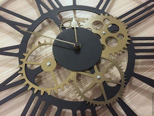 """Часы для дома ручной работы. Ярмарка Мастеров - ручная работа. Купить Часы 45см """"Kaiku-neli"""" и """"Kaiku-pronks"""". Handmade."""