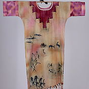 Одежда ручной работы. Ярмарка Мастеров - ручная работа Платье «Африка». Handmade.
