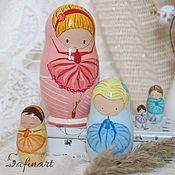 """Куклы и игрушки ручной работы. Ярмарка Мастеров - ручная работа Матрёшка """"Балеринки"""". Handmade."""