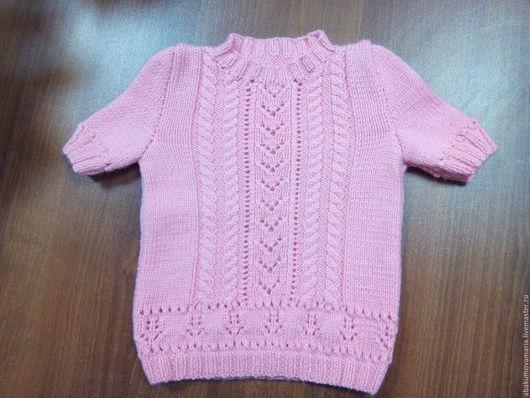 Одежда для девочек, ручной работы. Ярмарка Мастеров - ручная работа. Купить Вязанный костюм с юбкой. Handmade. Розовый, костюм для девочки