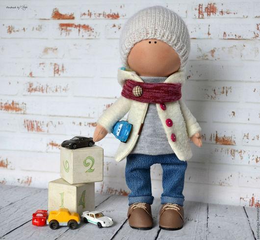 Куклы тыквоголовки ручной работы. Ярмарка Мастеров - ручная работа. Купить Малыш. Handmade. Бежевый, кукла текстильная, малыш