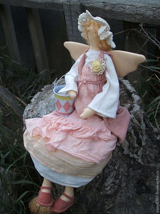 Куклы Тильды ручной работы. Ярмарка Мастеров - ручная работа. Купить Акулина. Handmade. Бохо, авторская кукла, осень, мохер