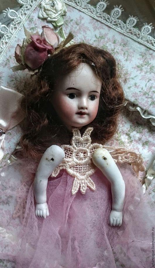 Винтажные куклы и игрушки. Ярмарка Мастеров - ручная работа. Купить Антикварная французская голова. Handmade. Бежевый, фарфор