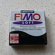 Глина ручной работы. Ярмарка Мастеров - ручная работа Черный (9) - Fimo Soft. Handmade.