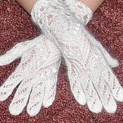 Аксессуары ручной работы. Ярмарка Мастеров - ручная работа Пуховые перчатки, ручная работа, однотонные РПТ. Handmade.
