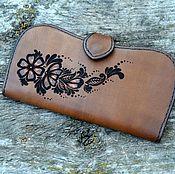 Сумки и аксессуары handmade. Livemaster - original item Wallet leather women`s No. №8. Handmade.