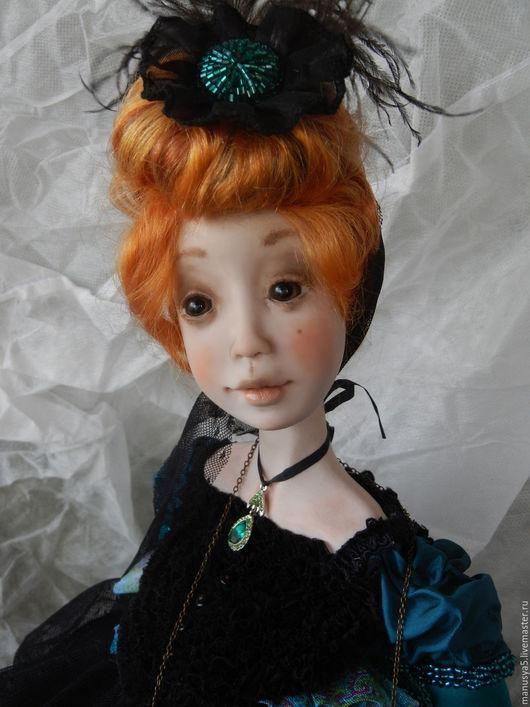 """Коллекционные куклы ручной работы. Ярмарка Мастеров - ручная работа. Купить Кукла"""" Беатриче"""". Handmade. Комбинированный, проволочный каркас"""