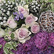"""Цветы и флористика ручной работы. Ярмарка Мастеров - ручная работа Букет """"Подруге"""". Handmade."""