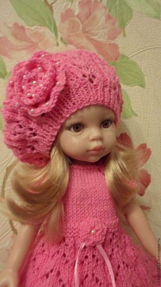 Одежда для кукол ручной работы. Ярмарка Мастеров - ручная работа. Купить Платье для Паола Рейна. Handmade. Розовый, наряд для куклы