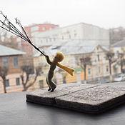Для дома и интерьера ручной работы. Ярмарка Мастеров - ручная работа Арт-объект Детство ( Книга Маленький Принц ) Композиция. Handmade.