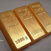 Слиток золота поздравление с