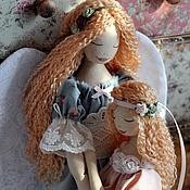 """Куклы и игрушки ручной работы. Ярмарка Мастеров - ручная работа Ангел """"Поговори со мною, мама..."""". Handmade."""