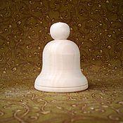 Материалы для творчества ручной работы. Ярмарка Мастеров - ручная работа Колокольчик с круглой шляпкой. Handmade.
