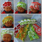 Работы для детей, ручной работы. Ярмарка Мастеров - ручная работа Повязки на голову для девочек в ассортименте. Handmade.