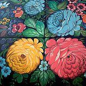 Дизайн и реклама ручной работы. Ярмарка Мастеров - ручная работа Роспись панно, стен. Handmade.