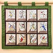 """Картины и панно ручной работы. Ярмарка Мастеров - ручная работа Панно """"Окно в сад"""". Handmade."""
